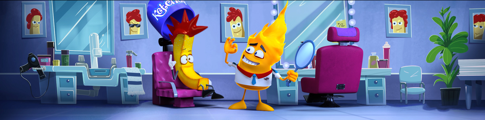 Mr. Heat and Freedom Fry