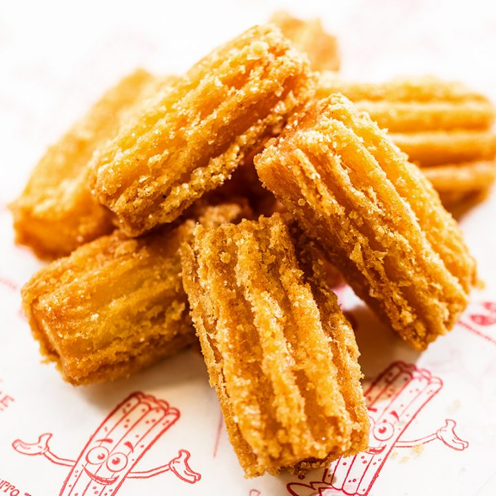 Fly Pie is your new Churros Place Near Me! Every ingredient is fresh. Everything gets baked right here in my kitchen. Have you ever tried Churros? It is one of the most devilish treats ever created. But what is a churro made of you ask? Come to Fly Pie & ask!