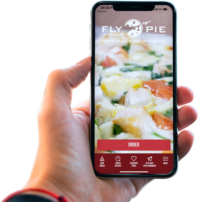 Fly Pie Pizza Mobile App